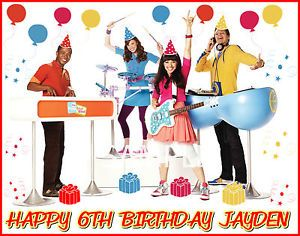 Fresh Beat Band 3 Frosting Sheet Edible Cake Topper Image Decorations