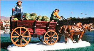 Squash Cart Bachmans New Department Dept 56 Dickens Village D56 DV