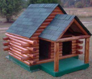Dog House Plans Duplex with Porch 6'X5'
