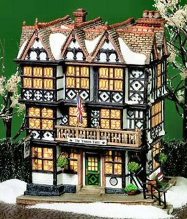 Timbers Hotel Dickens Village New Department Dept 56 DV