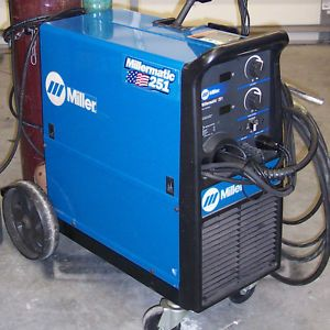 Miller Millermatic 251 MIG Welder No Gas Cylinders No Spool Gun