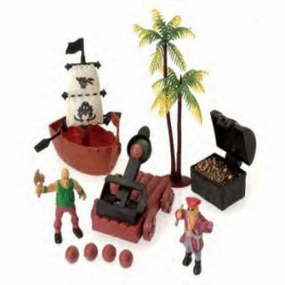 Pirate Adventure Set Toy Cake Topper