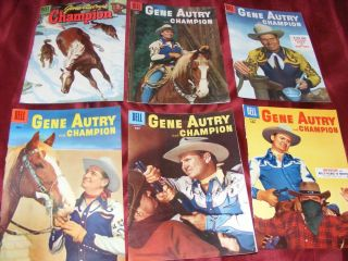 Gene Autry Comic Front Collection Young America Reader Champion Newspaper 1950s