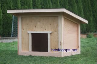 Large Dog House Plan 1