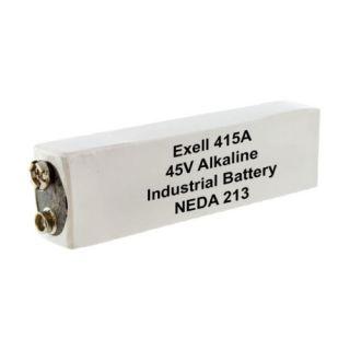 Exell 415A Alkaline 45V Battery Neda 213 30F20 BLR102