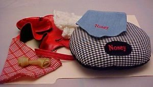 Betsy McCall's Dog Nosey's Dog Bed Outfits and Accessories by Robert Tonner