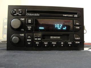 Delco Electronics Buick CD Cassette Am FM Car Stereo Radio 16213343