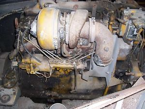 Cat MODLE 1673 Turbo Diesel Engine with Tuorqe Drive Unite