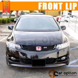 2009 2011 Honda Civic Coupe P1 Front Bumper Lip Rear Bumper Lip Side Skirt