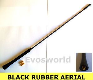 Suzuki Jimny Black Rubber Genuine Replacement Am FM Aerial Antenna Roof Mast