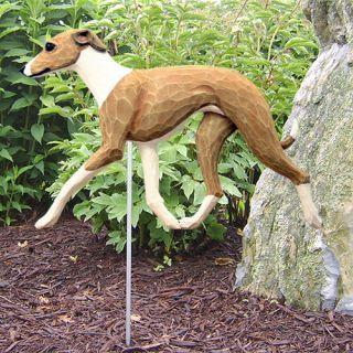 Italian Greyhound Dog Figure Garden Stake Home Yard Garden Products Gifts