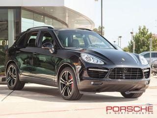 New 2014 Porsche Cayenne Turbo s Black Nav Bose Panorama LCA Adaptive Cruise