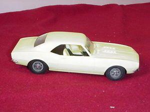 RARE Cox Camaro 020 Gas Powered Model Tether Car Engine Thimble Drome Chevy 1968