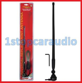 Black Rubber Duck Antenna Suit 4x4 Car Truck CD Player Radio Am FM Audio Install