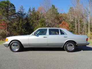 1986 Mercedes Benz 560 Sel 84K Miles Exceptionally Clean Car