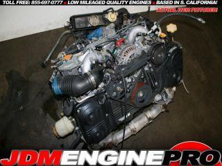 EJ20TT 2 0 Subaru Twin Turbo Boxer Engine EJ20 EJ25 EJ22 STI