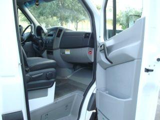 "2010 Freightliner Sprinter 3500 Mercedes Dodge Diesel Cab Chassis Flatbed 144"""