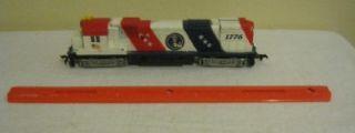 Tyco Mantua HO Scale Engine 1776 Bicentennial Train Diesel Locomotive