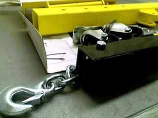 Vestil EHN 20 C Heavy Duty Steel Foldable Crane Engine Hoist w 2K Box 1 of 2