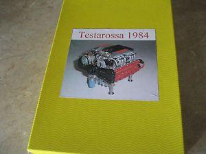 1 8 Scale Pocher Leggenda E Passione 1984 Ferrari Testarossa Engine Kit