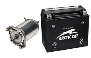 Arctic Cat New Engine Electric Start Starter Kit Bearcat 2010 570 w Battery