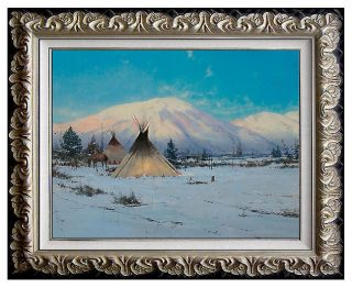 RARE Thomas Kinkade Original Oil Painting on Board Signed Art Light Canvas 16x20