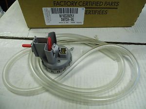 Water Level Pressure Switch W10339251 Appliance Replacement Part