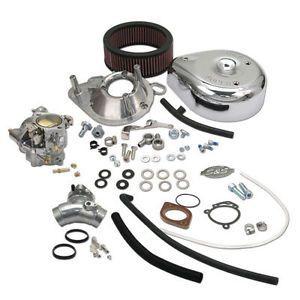 S s Super E Carb Carburetor Kit Harley Davidson 99 05 Twin Cam Engines