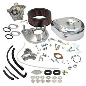 S s Super E Carb Carburetor Kit Harley Davidson 84 92 EVO Big Twin Engines