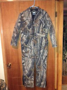 Berne Apparel Youth Camo Realtreehardwoods Coveralls