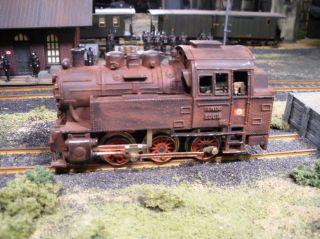 JTG German WWII Railroad Series German Railway Engine No 591 Custom Detailed