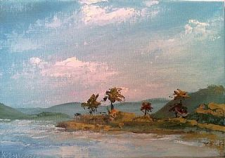 Vanlandingham Original Daily Fine Art Oil Painting EBSQ Beach Ocean Hawaii