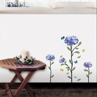 Hydrangea Art Decor Vinyl Wall Paper Sticker Decal 126