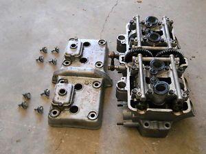 90 93 Kawasaki Ninja ZX6D ZX6 ZX600 ZX 600 Engine Cylinder Head w Cam Cover