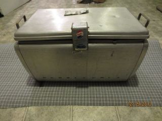 Pepsi Cola Vintage Art Deco Airstream Cooler Used Shape