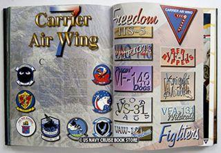 USS John F Kennedy CV 67 2002 Enduring Freedom Cruise Book