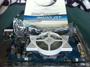 Sparkle GeForce 9600GT 512MB DDR3 PCI Express PCIe Dual DVI Video Card w TV Out