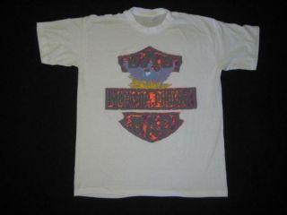Vtg Big Audio Dynamite 1989 T Shirt The Clash Tour 80s Concert Tee Original