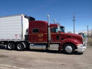 2009 Peterbilt 386 Semi Truck Conventional Cab Cummins ISX 450HP Diesel