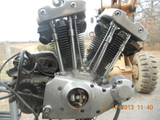 Harley Ironhead Sportster Engine