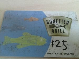 Bonefish Gift Card: Credit, Charge Cards