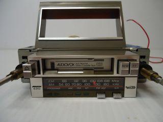 Vintage Audiovox Am FM Car Stereo Radio Cassette Adj Stud Width
