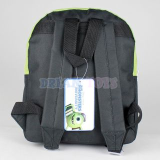 "Disney Monsters University Backpack 12"" Small Mike Wazowski Boys Girls Book Bag"
