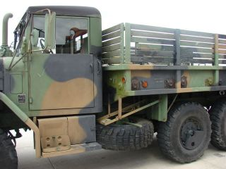 1993 Am General M35A3 Military Low Miles Trailer Included 6x6 2 1 2 Ton Nice