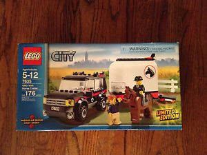 Lego City Farm 4WD with Horse Trailer 7635