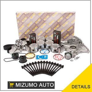 93 94 Ford Probe Mazda MX6 626 2 5L KL Master Overhaul Engine Rebuilding Kit
