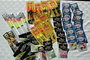 Lindy Jig Thill Floats and Little Joe Worm Harnesses – 45 PC Package