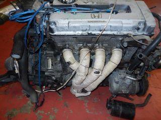 JDM Honda Civic Sir B16A SOHC vtec OBD 2 Engine LSD 5 Speed Manual Transmission