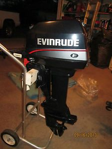 Evinrude Outboard Motor 6hp 1997 New Never Used Perfect Johnson