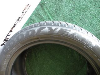 1 Used Goodyear Eagle NCT 5 EMT Tire 285 45 21 50 Rolls Royce 285 45 21